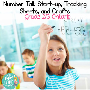 Number Talks Resources & Craftivities