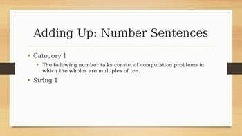 Number Talks: Second Grade - Adding Up (Subtraction)
