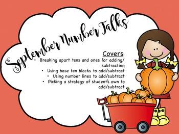 Number Talks- September
