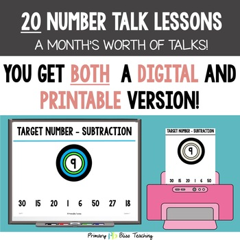 Third Grade Number Talks ~ Unit 1  (September)