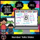 Number Talks Slides - Distance Learning