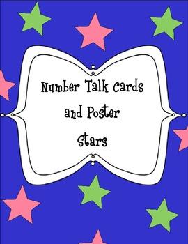 Number Talks Stars Theme