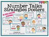 Number Talks Strategies Posters {Grades 3 to 5}