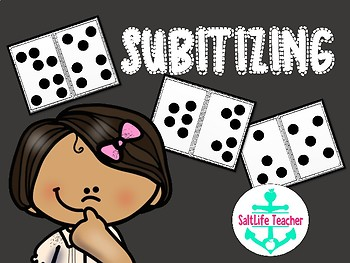 Number Talks Subitizing Dot Cards - great for Number Talks