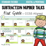 DIGITAL Number Talks for Subtraction DISTANCE LEARNING