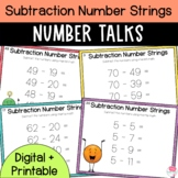 Number Talks- Subtraction Number Strings - Upper Elementary