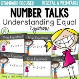 DIGITAL Number Talks for Understanding the Meaning of Equa