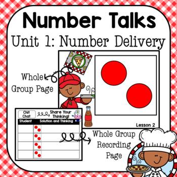 Number Talks Unit 1: Number Delivery Kindergarten