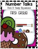 Number Talks: Unit 3 Tasty Equations