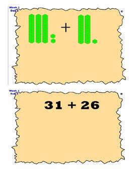 Number Talks Using Base 10 Blocks