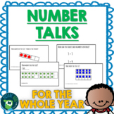 Number Talks - Whole Year Bundle K-2