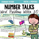 Number Talks - Word Problems {Addition and Subtraction within 20}