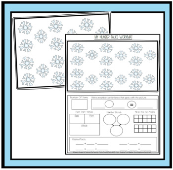Number Talks and Practice Pages to Extend Number Sense