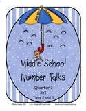 Number Talks for Middle School