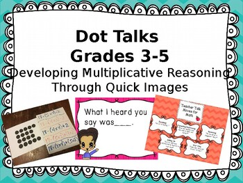 Number Talks for Multiplication: Multiplicative Reasoning through Quick Images