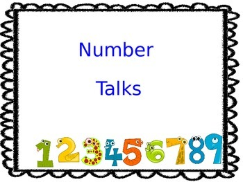 Number Talks in Spanish and English
