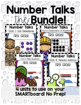 Number Talks the Bundled Unit - First Grade