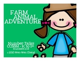 """Number Talks with """"Farm Animal Adventure"""" Story Context (Kinder & 1st)"""