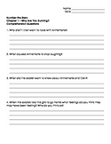 Number The Stars - Ch. 1 and 2 Comprehension Questions