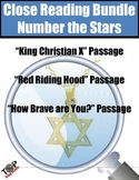 Number The Stars Close Reading Bundle 3 Excerpts for Annotation and Analysis
