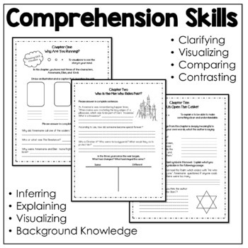 Number The Stars Novel Study-Comprehension Questions