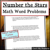 Number The Stars Fraction Word Problems