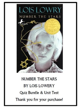 Number The Stars Quizzes and Test