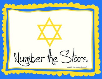 Number The Stars Reading And Writing Response Journal