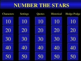 Number The Stars Review Powerpoint