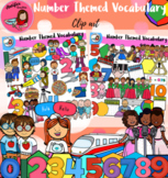 Number Themed Vocabulary-118 items!