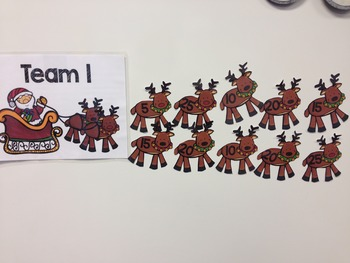 Number Theory Christmas Game for SMARTBOARD - (Primes, GCF, & LCM)