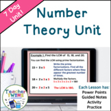 Number Theory Common Core 6.NS.4