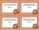 Number Theory- Greatest Common Factor-Task Cards-Fall Theme