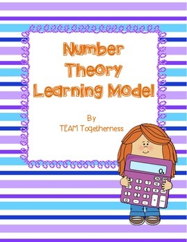 Number Theory Learning Model