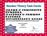 PRIME, COMPOSITE, MULTIPLES, FACTORSTASK CARDS Common Core