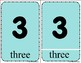 Numbers - Three Part Cards