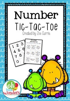 Number Tic-Tac-Toe