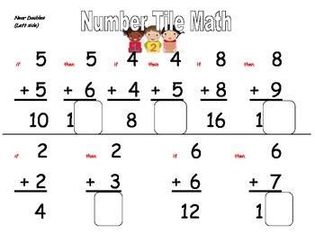 Number Tile Math Strategies