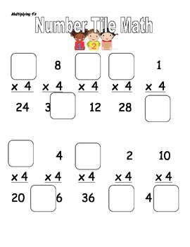 Number Tile Multiplication and Division