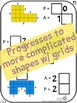 Number Tiles: Area & Perimeter Square Tile Printed Cards or iPad Puzzles!