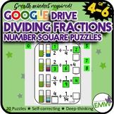 Number Tiles: Dividing Fractions Number Line Square Tile G