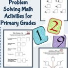 Number Tiles: 17 Hands-On Math Activities for the Primary Grades