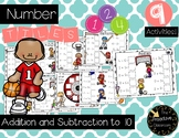 Number Tiles- Addition and Subtraction to 10