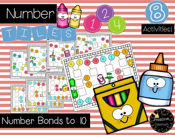 Number Tiles / Marcy Cook - Number Bonds to 10