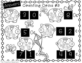Number Tiles / Marcy Cook Tiles Counting Like and Mixed Coins