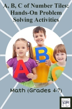 Number Tiles Math Bundle - 57 Problem Solving/Critical Thinking Math Activities