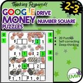 Number Tiles: Money Number Square Tile Google Drive Puzzles
