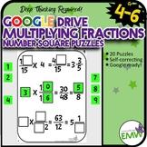 Number Tiles: Multiplying Fractions Square Tile Google Dri