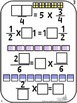 Number Tiles Multiplying Fractions Square Tile Printed Cards or iPad Puzzles