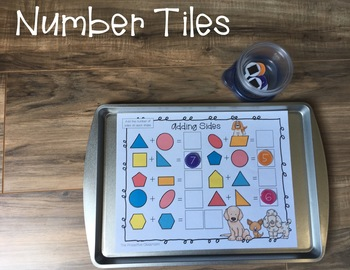 Number Tiles First Grade Math Bundle for the Year